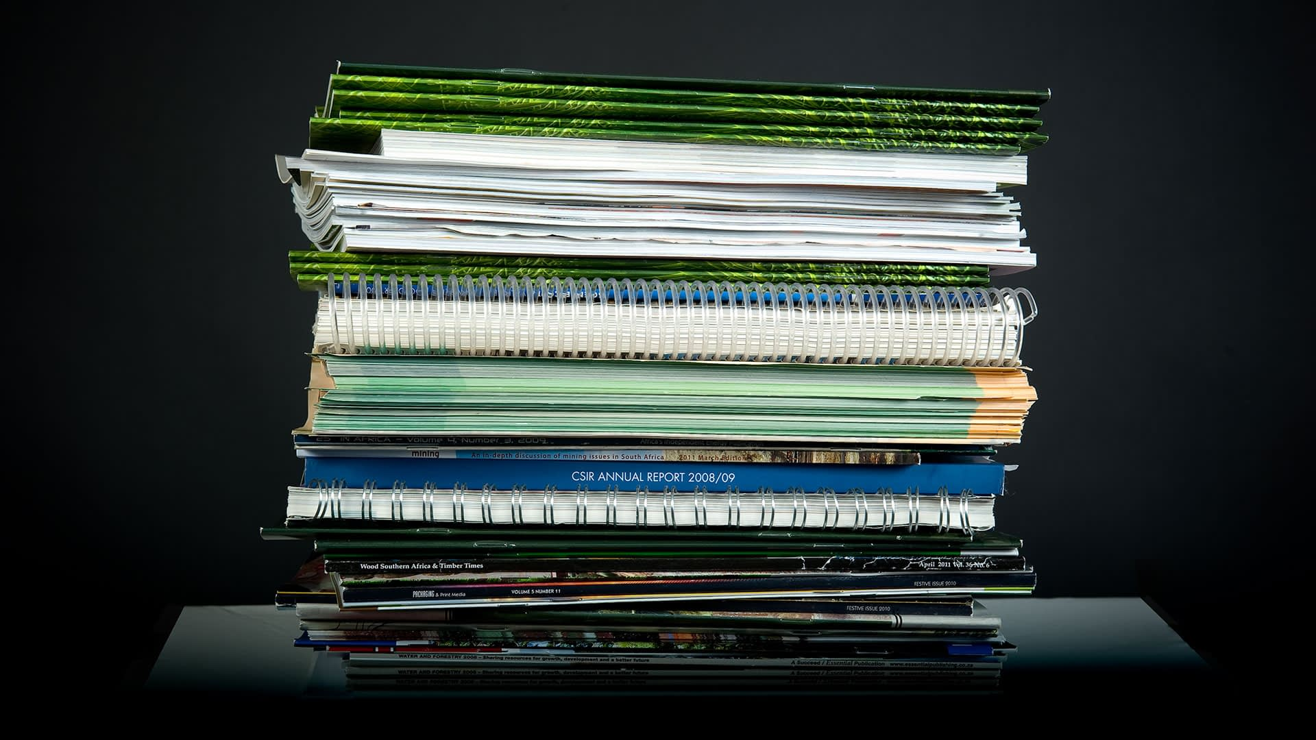Magazines-and-documents