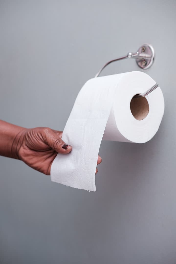 By using less paper – whether it's white paper or cardboard boxes – we are reducing what is available for recovery and recycling. Toilet paper makes use of recycled office paper.