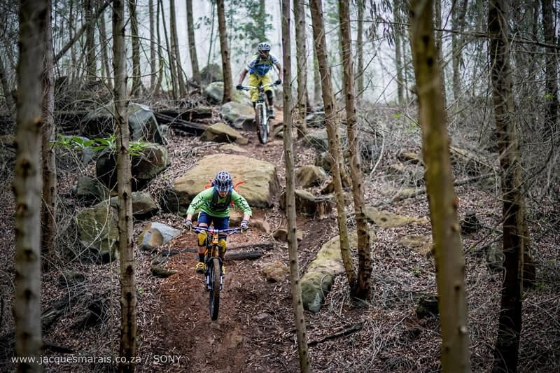 PHOTO  3 Mountain biking pleasure seekers will find a treasure trove of trails in South Africa's plantations