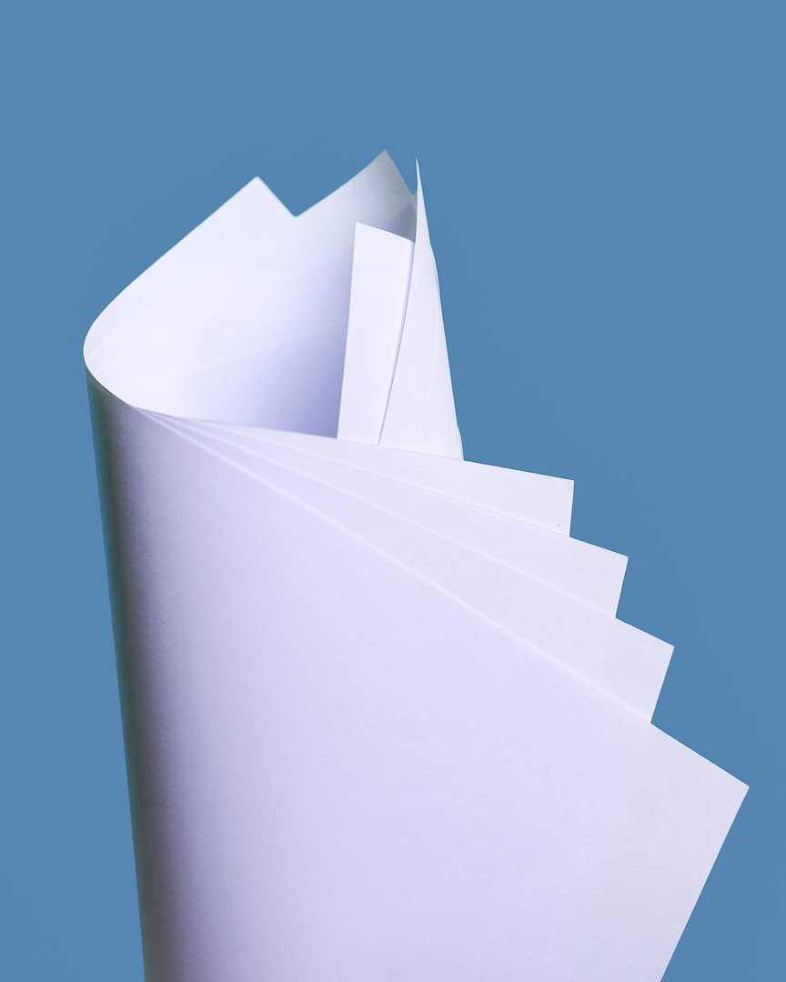Use locally made office paper – this is certified by the Forest Stewardship Council and it supports the local forestry and paper industry and its employees.
