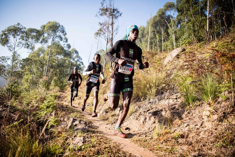 PHOTO  2 Trail running is a sport that is growing in popularity and the forestry industry is able to provide kilometres of tracks and trails for novices and experts alike